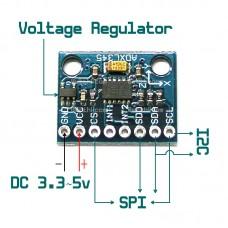 ADXL345 Digital 3-Axis Accelerometer Module I2C SPI Interface Arduino Raspberry
