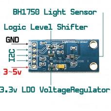 BH1750 Digital Light Sensor I2C Interface for Ardiuno RasPberry AVR MCU