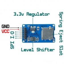 Micro SD/TF Card Board Shield Module SPI Interface Arduino Raspberry MCU