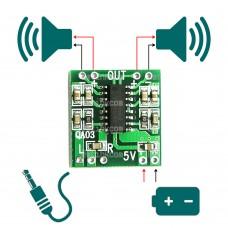 PAM8403 3W x 2 Stereo Class-D Digital Amplifier Module Ardiuno WAV Player