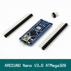 ARDIUNO NANO Ver.3.0 ATMega328 16MHz  CH340G Mini USB 5v