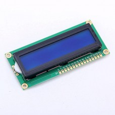 1602 LCD White on Blue HD44780 Compatible