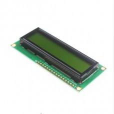 1602 LCD Black on Green HD44780 Compatible