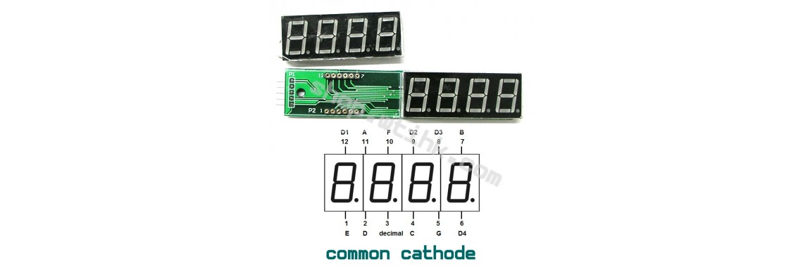 I2C 7-Segment LED Display