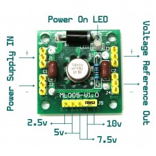 AD584 Precise 2.5v 5v 7.5v 10v Voltage Reference Module not for Power Supply
