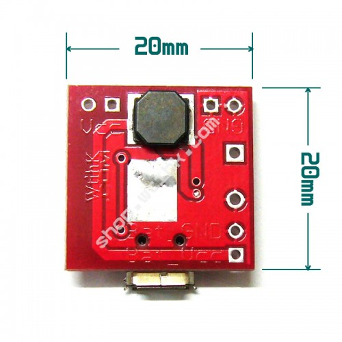 Lipo Battery Power Bank Module 2 1A Charging 2 4A Discharge w/ 4 LED