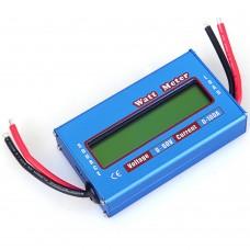 60v 100A Digital LCD Watt Meter RC Power Lipo Battery Analyzer Volt amp. Meter