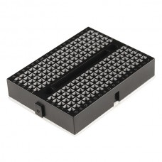 35 x 47mm Tiny Breadboard Solderless Prototype for Raspberry Arduino  - BLACK