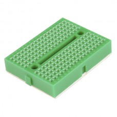 35 x 47mm Tiny Breadboard Solderless Prototype for Raspberry Arduino  - GREEN