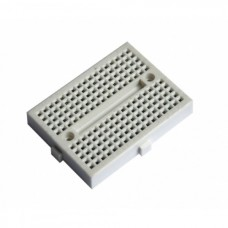 35 x 47mm Tiny Breadboard Solderless Prototype for Raspberry Arduino  - WHITE