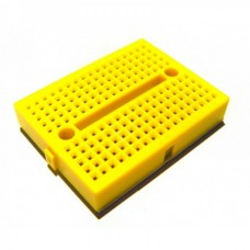 35 x 47mm Tiny Breadboard Solderless Prototype for Raspberry Arduino  - YELLOW