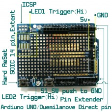 Arduino PROTO-SHIELD,  PROTO BOARD ARDUINO-LIKE