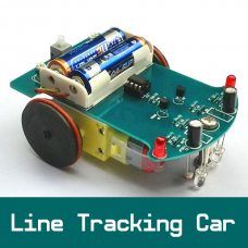 DIY Line Tracking Smart Car Kit Robot With Chassis