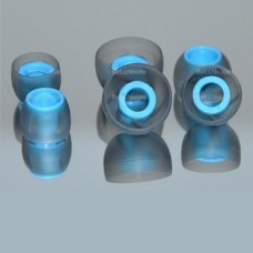 IE Headphone Silicone HolowPoints EarTips Earbuds Replacement 3-Size Set