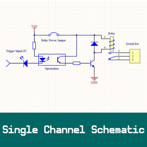 8-Channel 5v DC Isolated Relay Switch Module for Smart Home Automation